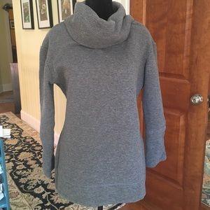 cozy Merona cowl-neck sweater